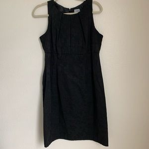 R&K Originals Black Empire Waist Sheath Dress